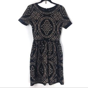 Romeo & Juliet Short Sleeve A Line Dress